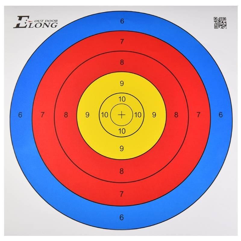 target shooting practice archery arrow targets paper 3d bow animal face arrows hunting density pheasant foam elong cheap 43cm bulk